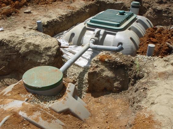 Assainissement individuel avec pompe de relevage sur la commune de BOUAYE - 44